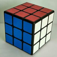 Shengshou 70mm  Legend  / 3 layers Magic Cube  Puzzle - Black