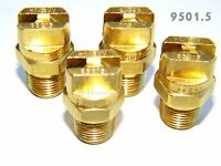 Carpet Cleaning - Quality Brass VeeJETS 9501.5 (Set of 4) for Wands Hoses
