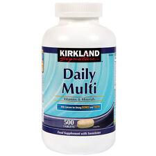 Kirkland Signature Daily Multi 500 Tablets 1000 mg