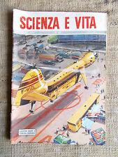 Scienza e vita n.46 novembre 1952 Elicottero gigante a fusoliera smontabile