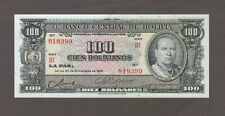 1945 100 BOLIVIANOS BOLIVIA CURRENCY GEM UNC BANKNOTE NOTE MONEY BANK BILL CASH