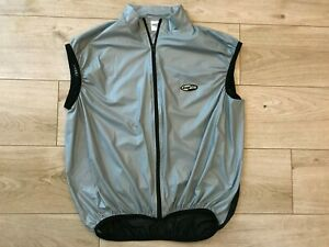 Mens Lightweight LUSSO CYCLING GILET JERSEY (XXL) *GREAT COND*