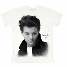 One Direction Ladies Tee: Louis Solo B&W (X-Large)