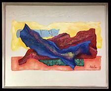 Original STEPHEN KAYE (American) Abstract Impasto Textured Oil on Canvas Art