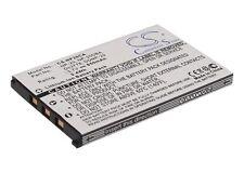 3.7 V Batteria per Casio Exilim Zoom EX-Z77, Exilim EX-Z11, EXILIM CARD EX-S880