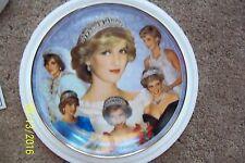 "Danbury Mint Princess Diana ""PRINCESS OF WALES"" Collectible Plate"