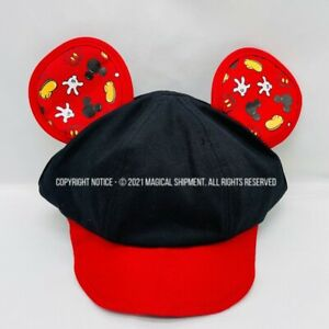 NWT - Disney Parks - Mickey Mouse Infant/Baby Cap with Ears - FREE SHIPPING!!