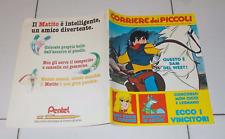 CORRIERE DEI PICCOLI n. 38 del 1982 + Giocaposter LADY OSCAR Inserto