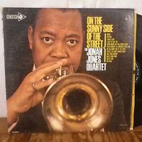 The Jonah Jones Quartet On the Sunny Side of the Street LP Decca VG+