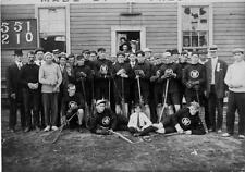 Photo. 1909-10. New Westminster, BC, Canada. Lacrosse Squad