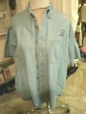 HONDA Logo-- Denium Mens Shirt--Size Large--Dealer Promo
