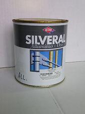 ATTIVA Silveral smalto alluminio per alte temperature, ml 750