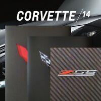 2014 STINGRAY COUPE CORVETTE LT1 - 1 BOOK + 2 BROCHURES - 2015 Z06 LT4 CHEVROLET