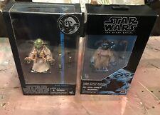Star Wars Black Series 6? Yoda #06 Blue Line Figure & Spirit Yoda Exclusive lot