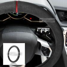Original Alcantara Racing grip Dark Gray Steering Wheel Cover for All Vehicle