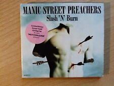 Manic Street Preachers Slash 'N' Burn Ltd Edition 4 Track GOLD CD
