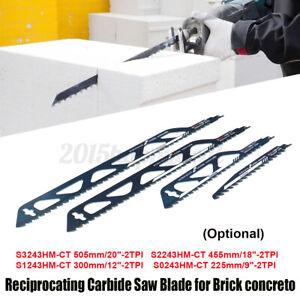 Reciprocating Concrete Cement Board Brick Sabre Saw Blade Wood Meta