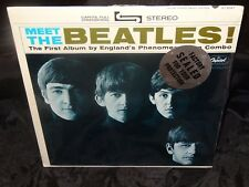 Beatles Meet The Beatles Sealed 1964 USA Capitol Riaa 6 Vinyl Lp Record Album
