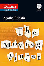The Moving Finger: Collins English Reader by Agatha Christie (CD-Audio, 2012)