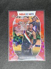 2020-2021 Panini NBA Hoops | Hassan Whiteside Hyper Red Base Parallel #/99