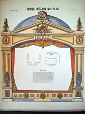 Pellerin Imagerie D'Epinal-Grand Theatre Nouveau No. 1625, Opera House INV1787