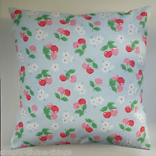 "Shabby Chic Cushion Cover in Cath Kidston Cherries 16"""
