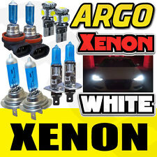 XENON WHITE FRONT HEADLIGHT BULBS HIGH LOW FOG SIDELIGHT SET FREE LED H1 H7 H11