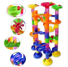 105PCS DIY Construction Marble Race Run Maze Track Building Blocks Kids Toy Gift