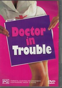 Doctor in Trouble  ~ Leslie Phillips  (DVD) R4
