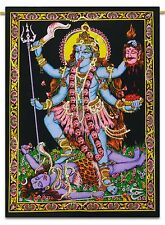 Goddess Tapestry Maha kali Cotton Poster Wall Hanging Bohemian Table Cloth Boho