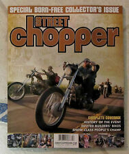 STREET CHOPPER Magazine Special BORN FREE Collector's Issue SUMMER 2015 History