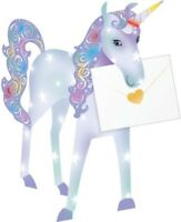 Unicorn 3D Special Delivery Animal Greeting Card Blank Own Message Cards