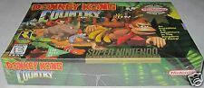 Donkey Kong Country (Nintendo SNES) Factory Sealed!!