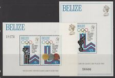 BELIZE SGMS531 1979 WINTER OLYMPIC GAMES MNH