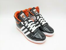 Adidas Top Ten Hi 'Bad Boys' Black Patent Leather FV2449 Mens Size 5 Wm Size 6.5