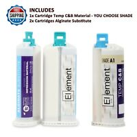 ELEMENT Temporary Crown and Bridge Fabrication Kit - Shade A1,A2,A3 or B1