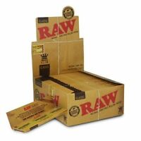 RAW Rolling Papers King Size Slim Classic Natural Unrefined 50 Pack