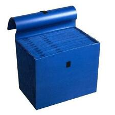 "Wilson Jones Colorlife Expanding File Folder 10"" X 12"" - 1 Each Dark Blue Accord"