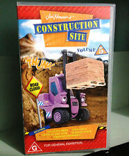 Construction Site Vol 5  - Jim Henson - VHS