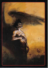 THE CROW CITY OF ANGELS EMBOSSED LEGENDS OF THE CROW CARD 9 OF 10