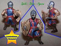 Mystery Fighter mit Schild, Helm und Kurzschwert, Warrior Action Figur