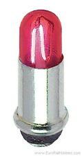 NEW FLEISCHMANN 66532 RED BULB 3mm BAYONET 24V FMZ SPARE FOR HO VEHICLES