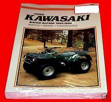 Kawasaki Bayou 400 1993-1999 Clymer Shop/Repair Manual