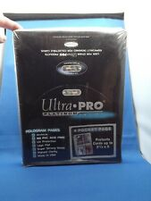 More details for ultra pro platinum series 100 pages  4 pocket pages 3 1/2  x  5