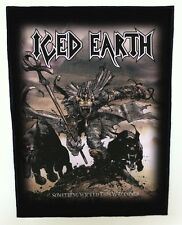 ICED EARTH BACKPATCH / SPEED-THRASH-BLACK-DEATH METAL