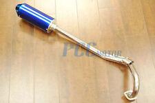 MUFFLER PIPE EXHAUST for XR50 CRF50 PIT DIRT BIKE SDG SSR 107 125 BLUE M EX16
