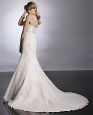 "New Original ""Sottero & Midgley"" Couture wedding gown-Size 12/ Ivory"