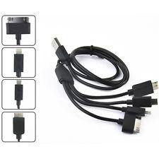 CAVO DATI USB 5 IN 1 ADATTATORE IO PHONE IPAD SAMSUNG CARICABATTERIA 7239