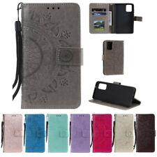 Samsung Galaxy A41 Handy Hülle Flip Case Schutzhülle Cover Tasche Etui Mandala