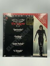**LETTERBOX THX LASERDISC THE CROW 1994 DOLBY DIGITAL NTSC**